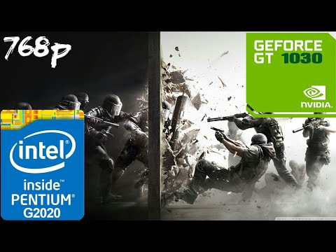 Rainbow Six Siege [PC] - GT 1030 + G2020