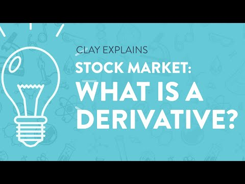 Stock Market: What is a Derivative?