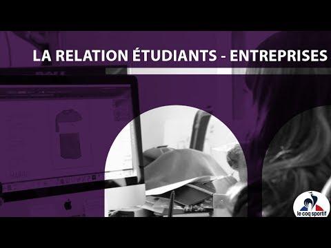 La relation étudiants-entreprises, l'exemple du Coq Sportif !