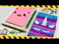 DIY Notebooks For Back To School | Unicorn And Kawaii School Supplies