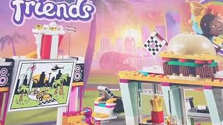 Lego Friends Fast Food for kids pretend play toys !