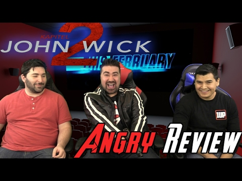 John Wick: Chapter 2 Angry Movie Review