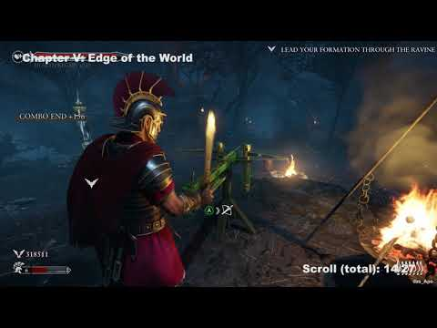 Ryse: Son of Rome - All Scrolls Locations Guide - All Chapters