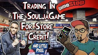 Trading Soulja Boy Console To GameStop! How Much Store Credit Is It Worth?