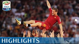 Roma - Genoa - 3-2 - Highlights - Giornata 38 - Serie A TIM 2016/17