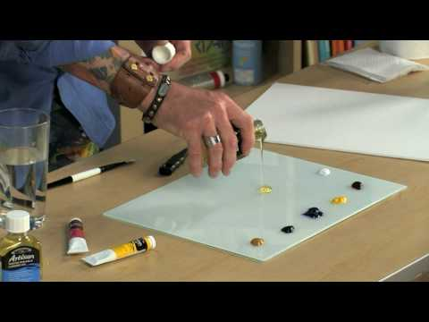 Winsor Newton Artisan Water Mixable Oil Paint Youtube
