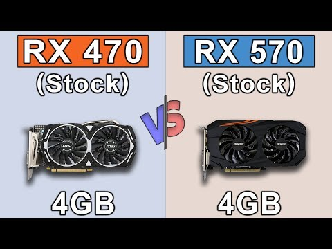 RX 470 Vs RX 570 | Core I5-8400 | New Games Benchmarks