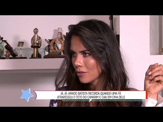 """Estou solteiro, abandonado pelas princesas"", lamenta Amado Batista"