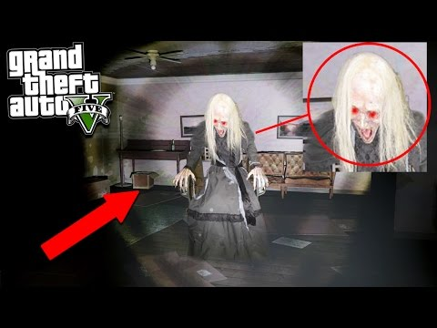 GTA 5 THE WITCH LIVES IN THE WOODS! 😱 (Scary)