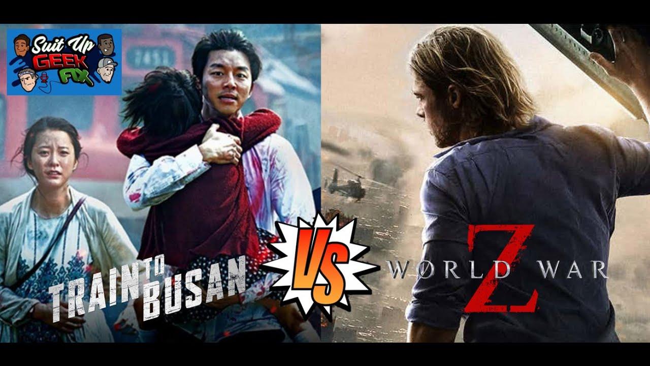 Zombie Movie Throwdown: Train to Busan vs World War Z