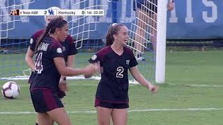 Soccer: Highlights | A&M 4, Kentucky 1