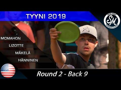 Tyyni 2019 | Round 2 Back 9 | McMahon, Lizotte, Mäkelä, Hänninen