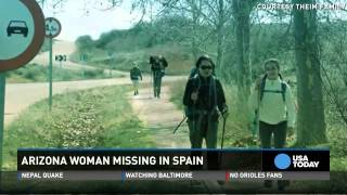 Arizona woman disappears on Spain