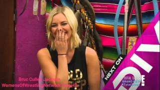 Total diva next week (Dean ambrose, Renee young )