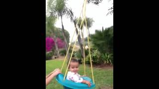 Flying Baby Swing Set:)