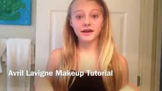 Avril Lavigne Makeup Tutorial