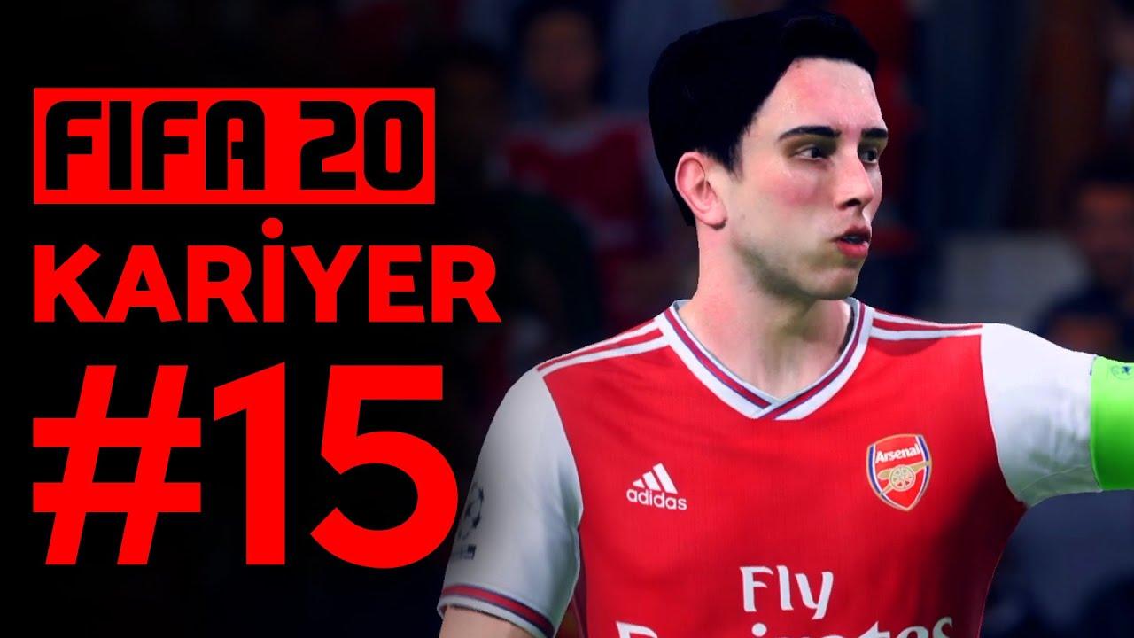 FİNALDE AKIL ALMAZ ŞEYLER OLDU! // FIFA 20 KARİYER #15 (FİNAL)
