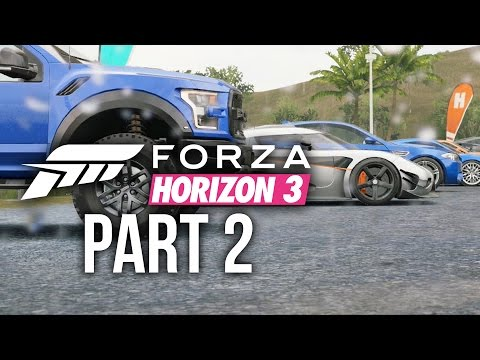Forza Horizon 3 Gameplay Walkthrough Part 2 - LOYALTY CARS & NEW FESTIVAL (Full Game)