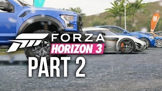 Forza Horizon 3 Gameplay Walkthrough Part 2 - LOYALTY CARS & NEW FESTIVAL (Full Game)