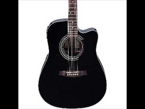 Ibanez Acoustic Electric V70ce Guitar Black Youtube