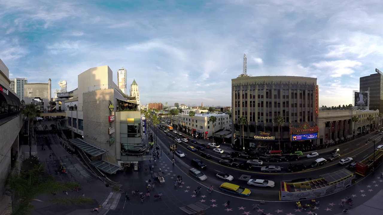 Los Angeles  - Sounds of Traffic in 360