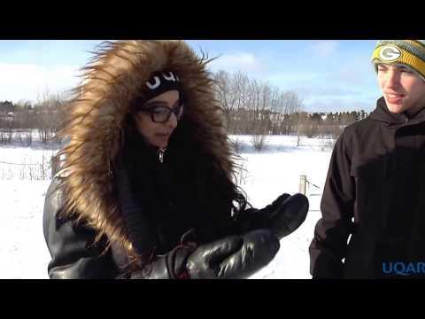 Rimouski en hiver, c'est froid.