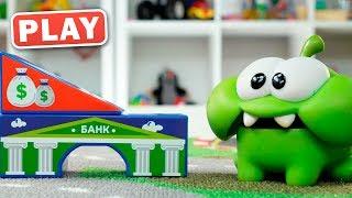 КУКУТИКИ PLAY - Ам Ням и Ограбление Банка - Полицейская Операция Поймай Вора - Играем с Катей