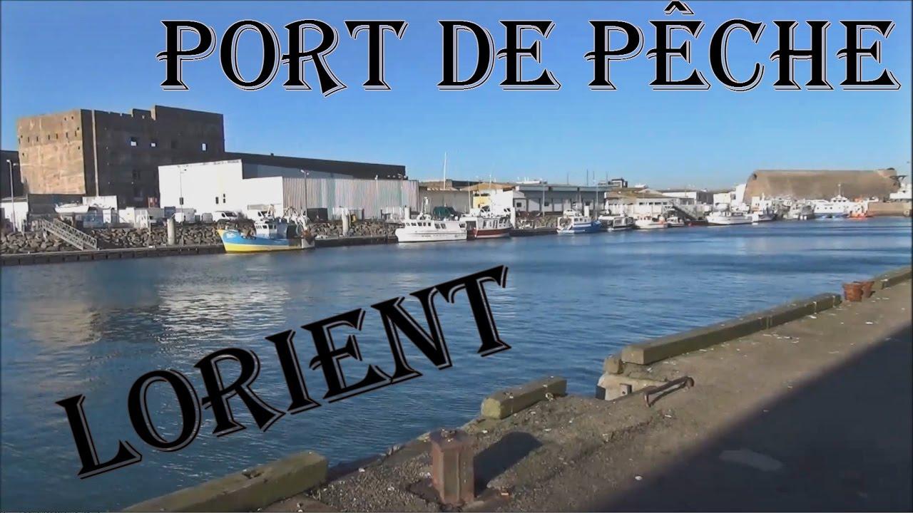 port de p 234 che lorient bateau chalutier sleepway morbihan bretagne