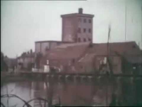 Eling Tide Mill & Quay near Southampton in the 1960's