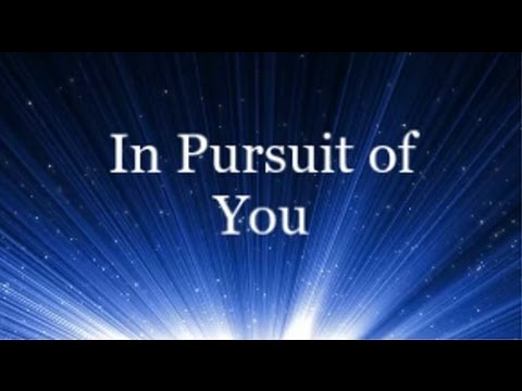 In Pursuit of You - Jaye Thomas (Lyrics)