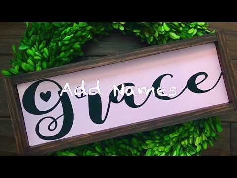 Handmade wooden sign ideas for home decor, weddings or any occasion.  DIY wooden signs.