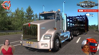 """American Truck Simulator (1.38 Open Beta)   Kenworth T800 BY CARDENAS98A [1.38] Road to Boeing Everett Washington DLC by SCS Software Special Transport DLC by SCS Trailer Jazzycat FMOD ON and Open Windows Next-Gen Graphics USA Test Gameplay ITA + DLC's & Mods - standalone - For sale in Kenworth - 1 cab - Chassis - Your interiors - Sound Cummins - Cable support - Windows openable - is painted https://sharemods.com/kvnb9m1yrujs/KENWORTH_T800_2008_1.37.scs.html  SCS Software News Iberian Peninsula Spain and Portugal Map DLC Planner...2020 https://www.youtube.com/watch?v=NtKeP0c8W5s Euro Truck Simulator 2 Iveco S-Way 2020 https://www.youtube.com/watch?v=980Xdbz-cms&t=56s  #TruckAtHome #covid19italia Euro Truck Simulator 2    Road to the Black Sea (DLC)    Beyond the Baltic Sea (DLC)   Vive la France (DLC)    Scandinavia (DLC)    Bella Italia (DLC)   Special Transport (DLC)   Cargo Bundle (DLC)   Vive la France (DLC)    Bella Italia (DLC)    Baltic Sea (DLC)   American Truck Simulator New Mexico (DLC) Oregon (DLC) Washington (DLC) Utah (DLC)     I love you my friends Sexy truck driver test and gameplay ITA  Support me please thanks Support me economically at the mail vanelli.isabella@gmail.com  Roadhunter Trailers Heavy Cargo  http://roadhunter-z3d.de.tl/ SCS Software Merchandise E-Shop https://eshop.scssoft.com/  Euro Truck Simulator 2 http://store.steampowered.com/app/227... SCS software blog  http://blog.scssoft.com/  Specifiche hardware del mio PC: Intel I5 6600k 3,5ghz Dissipatore Cooler Master RR-TX3E  32GB DDR4 Memoria Kingston hyperX Fury MSI gtx 970 Twin Frozr Gaming 4gb ddr5 Asus Maximus VIII Ranger Gaming Cooler master Gx750 SanDisk SSD PLUS 240GB  HDD WD Blue 3.5"""" 64mb SATA III 1TB Corsair Mid Tower Atx Carbide Spec-03 Xbox 360 Controller Windows 10 pro 64bit"""