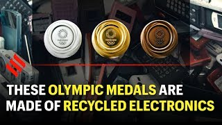 Tokyo 2020 Olympic medals are made of recycled consumer electronics
