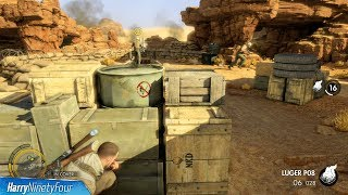 Sniper Elite 3 Wait For It Trophy / Achievement Guide 10 Kills With Flint Explosions