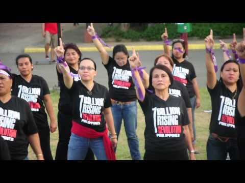 Gabriela Women's Party NC One Billion Rising Revolution dance