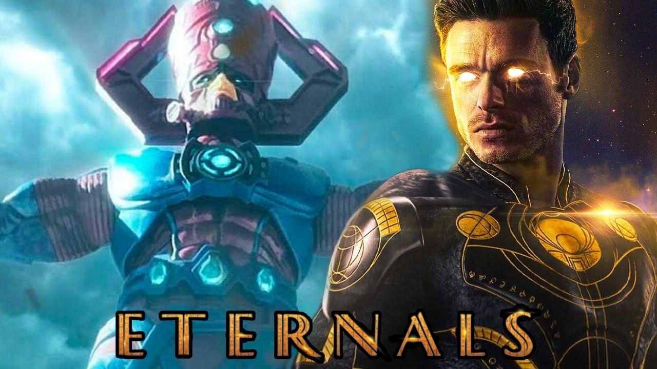 Download Eternals 2 POSTS CREDIT SCENES TEASED By Director! Galactus? X-Men?