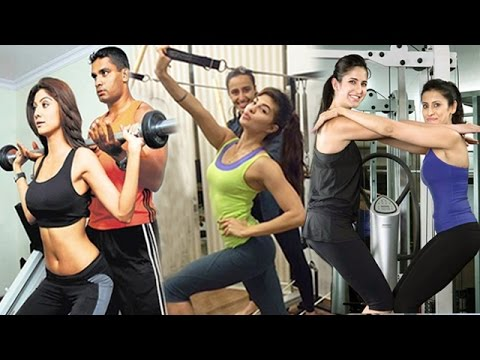 Bollywood Actresses HOT Work Out In GYM