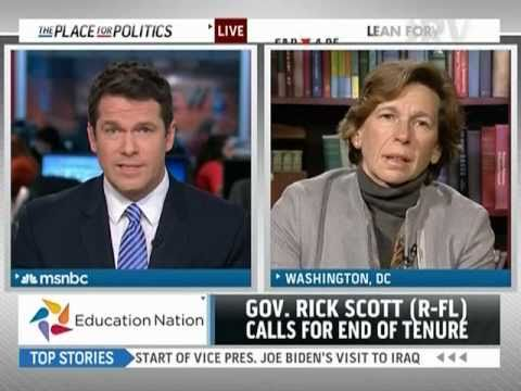MSNBC: Randi Weingarten on Teacher Tenure Proposals