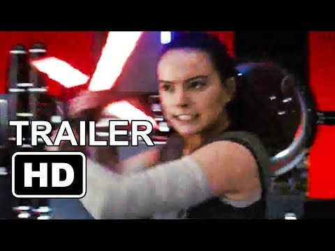 Star Wars 8 Evil Rey Trailer (2017) Mark Hamill, Daisy Ridley Sci-Fi Movie HD
