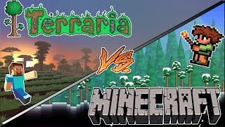 TOP 5 REASONS WHY TERRARIA IS BETTER THAN MINECRAFT!