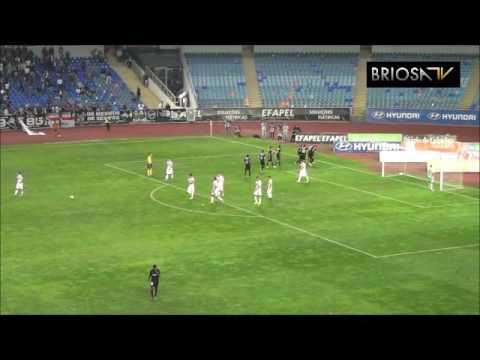 Académica 3-2 Varzim: Os golos da Briosa