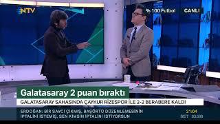 Rıdvan Dilmen, Çaykur Rizespor'un iptal edilen golünü değerlendirdi.