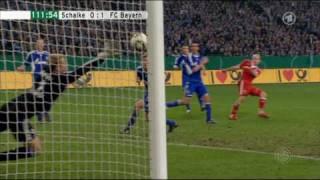 Arjen Robben schießt Bayern ins DFB-Pokal Finale