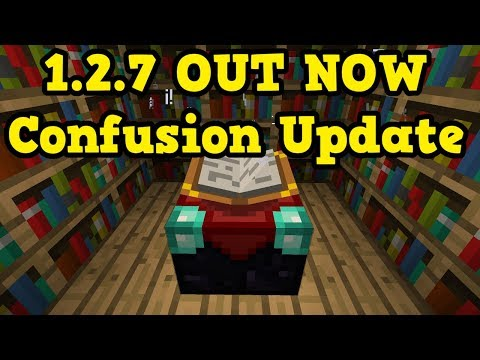 Minecraft PE 1.2.7 OUT NOW - Features & CONFUSION???