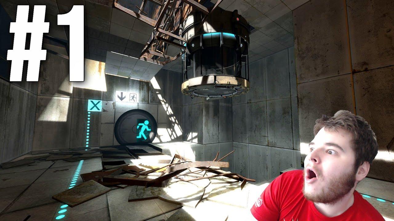 Portal & Portal 2 - Part 1 [PC] - YouTube