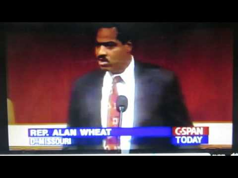 08-00-94: Rep. Alan Wheat (D-MO) Supports the Clinton Crime Bill, YES Vote