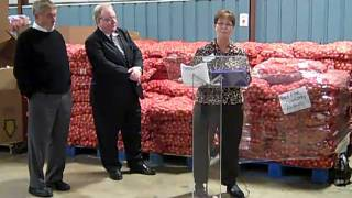 Homer Farm And Walmart Join To Feed Hungry