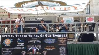 Clips of The Righteous Blues Band from the Granbury Biker Bash 2014