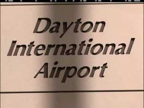 Dayton International Airport Signage