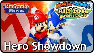 Mario and Sonic at the Rio 2016 Olympic Games - Hero Showdown Compilation (Multiplayer Versus)